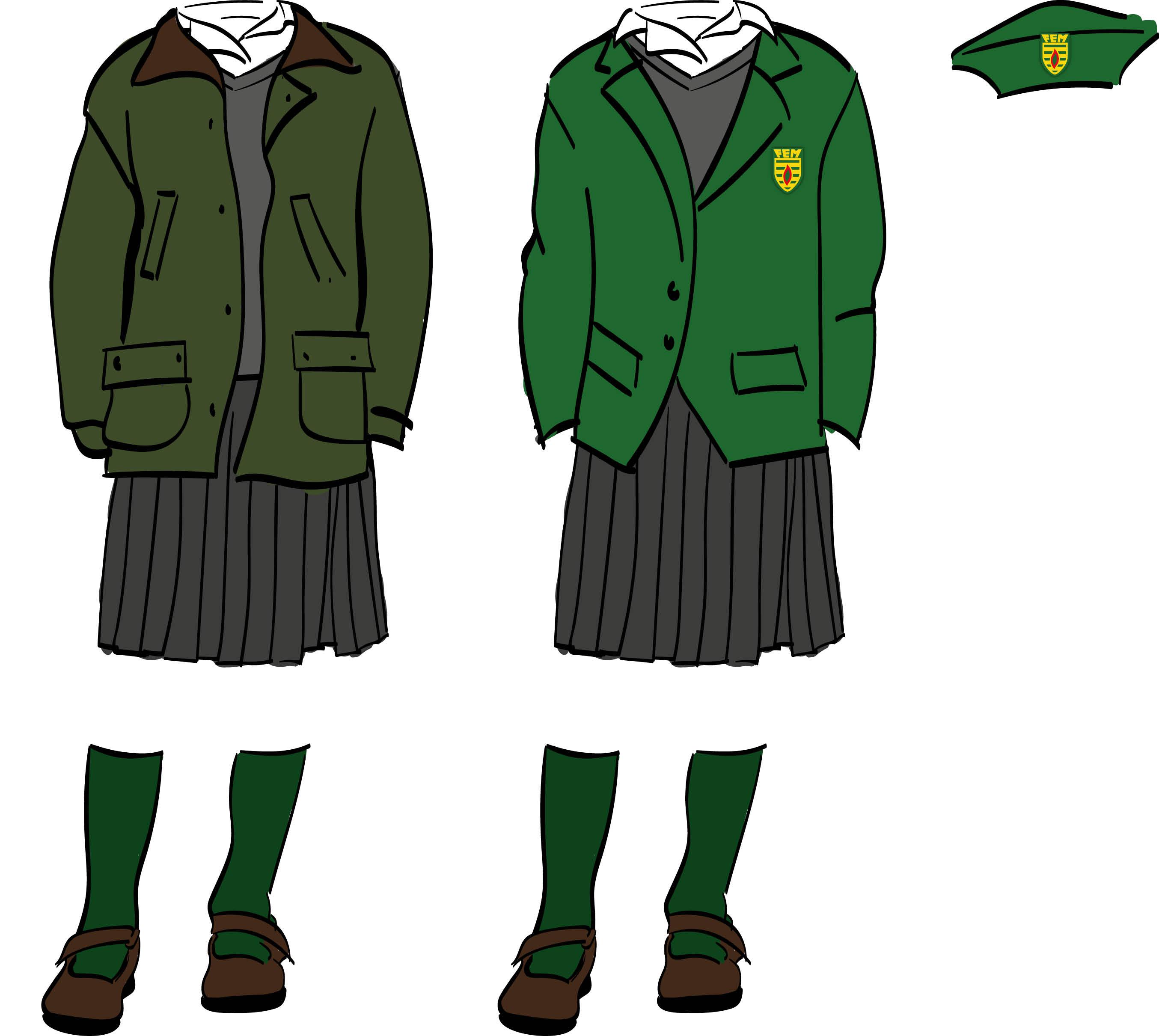 School Uniform Shoes Brown